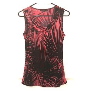 The Limited Size Small Black and Pink Top